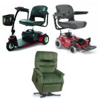Rent Mobility Scooter Rent Power Wheelchair Rent Lift Chair Recliner