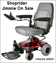 Jimmie Power Wheelchair Sale