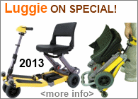 FreeRider 2013 Luggie Folding Scooter Special